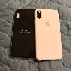 iPhone X silicone cases